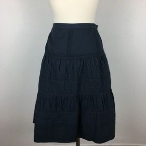 Boden Navy Tiered Skirt size 10